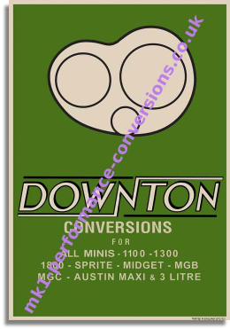 Downton Showroom Poster (1968)