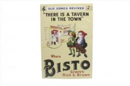 BISTO Gravy's Rich & Brown ENAMEL SIGN