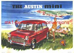 THE AUSTIN mini (BMC SHOW ROOM POSTER)