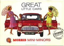 GREAT LITTLE CARS (BMC SHOW ROOM POSTER)