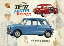 The new AUSTIN Seven (BMC SHOW ROOM POSTER)