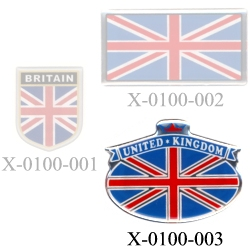 3D ステッカー UNITED KINGDOM