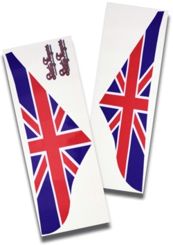 A PANEL STICKER-UNION JACK