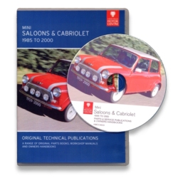 Mini Saloons and Cabriolet (1985-2000) CD-ROM