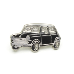 ピンバッジ MINI Saloon Black