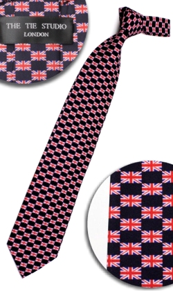 UNION JACK (SMALL) TIE