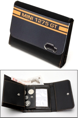 MINI 1275 GT BLACK WALLET