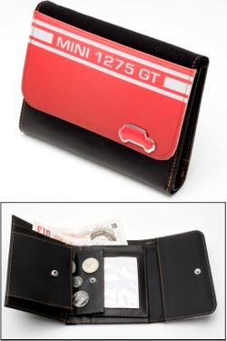 MINI 1275 GT RED WALLET
