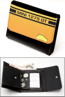 MINI 1275 GT YELLOW WALLET