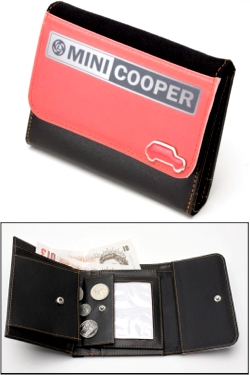 MINI COOPER RED LEYLAND WALLET