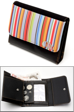 MINI STRIPEY WALLET