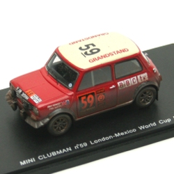 MINI CLUBMAN No.59 London-Mexico World Cup Rally …