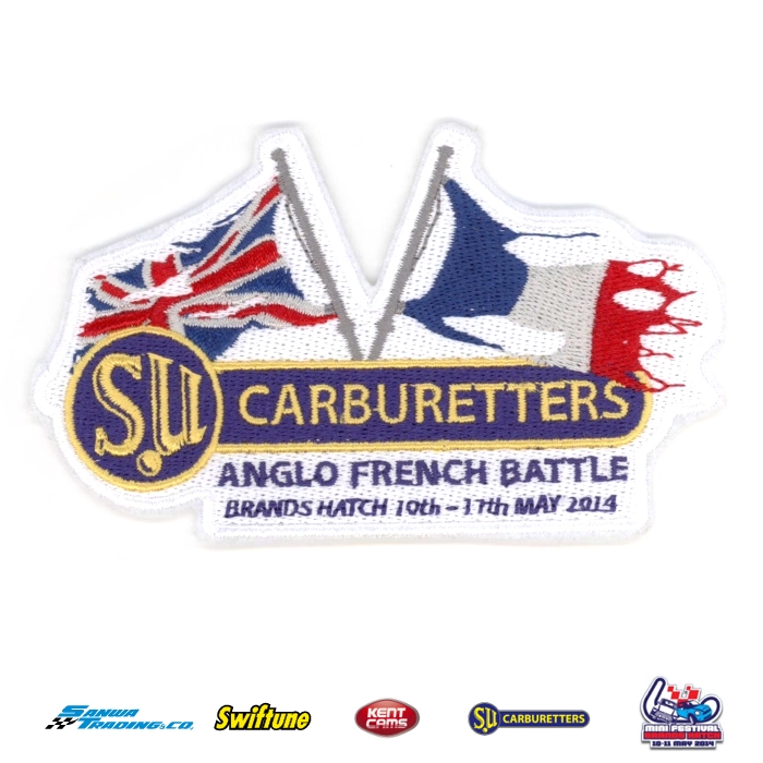 2014 ANGLO FRENCH BATTLE CLOTH BADGE