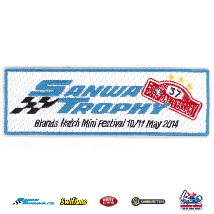 2014 SANWA TROPHY CLOTH BADGE
